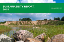 Cover Sustainability Report 2015 HeidelbergCement