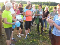 "Guided nature tour with the focal topic of ""relevance of arable wild plants"", Photo Neumarkter Lammsbräu"