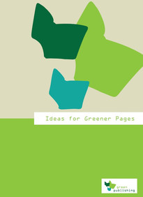 "Cover ""Ideas for greener pages"", photo: oekom verlag"