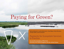 "Cover: ""Paying for green?""; photo: oekom verlag"
